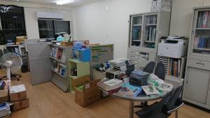 新會館-進門處擺放雜誌及贈送的鳥類書籍